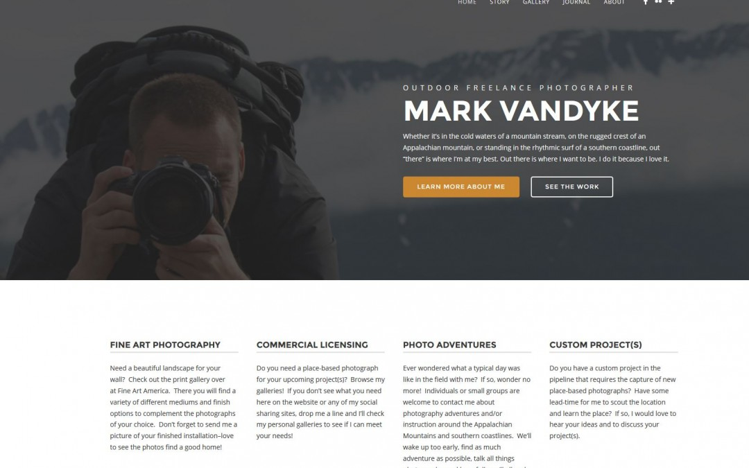 New Website Design & New Content!
