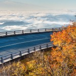 Blue Ridge Parkway Linn Cove Viaduct Autumn