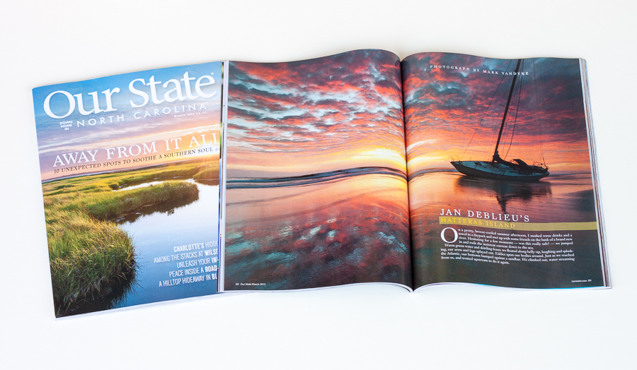 PUBLISHED:  Our State Magazine March 2015