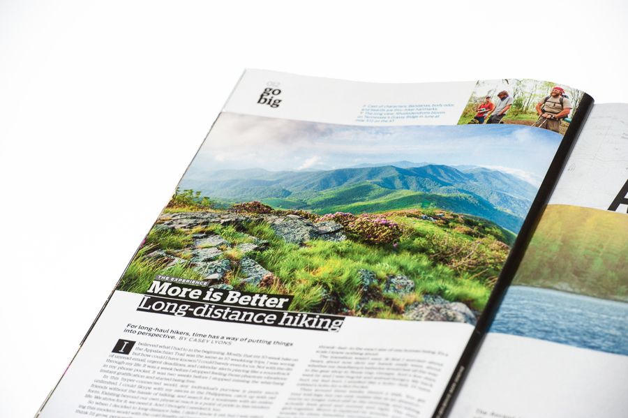 PUBLISHED:  Backpacker Magazine June 2014
