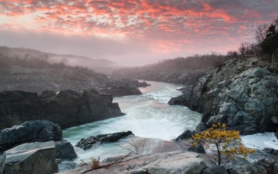 Through the Gorge:  The Potomac River Mather Gorge at Great Falls National Park