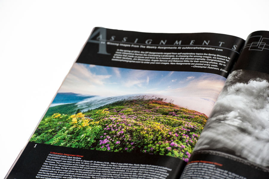 PUBLISHED:  Outdoor Photographer July 2014