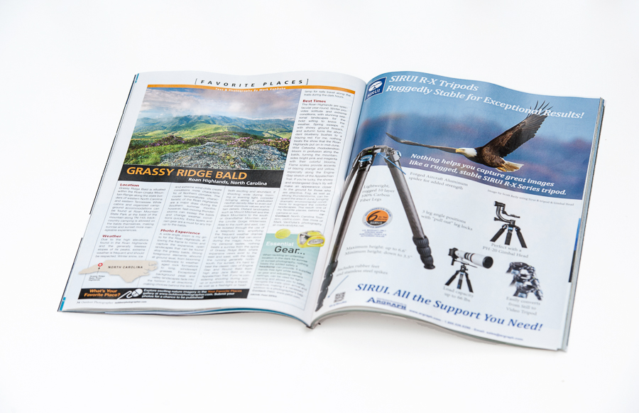 Published:  Outdoor Photographer Magazine April 2015