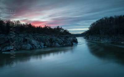 The Character of Place:  Potomac River Mather Gorge Great Falls National Park