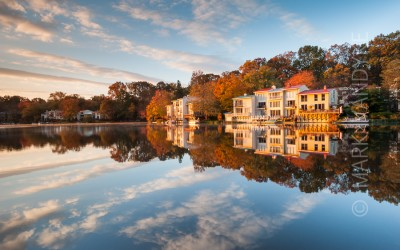 Coming Home:  Lake Anne Townhomes, Reston, Virginia