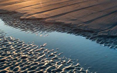 "Shifting Sands:  Charleston, South Carolina's Folly Beach ""Washout"" at Sunrise"