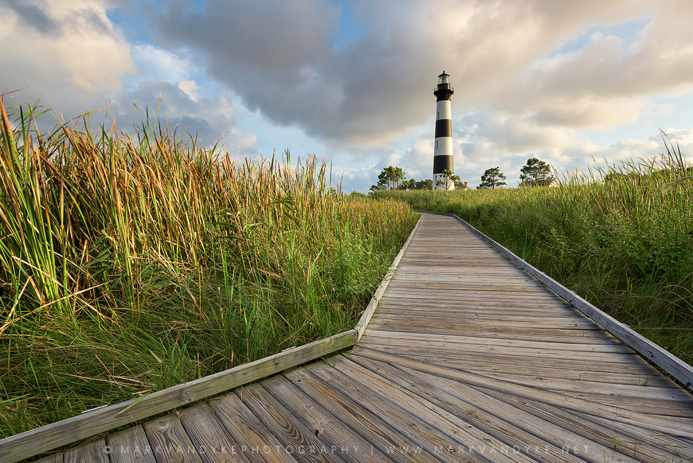 Summer Greens: Bodie Island Lighthouse Cape Hatteras National Seashore