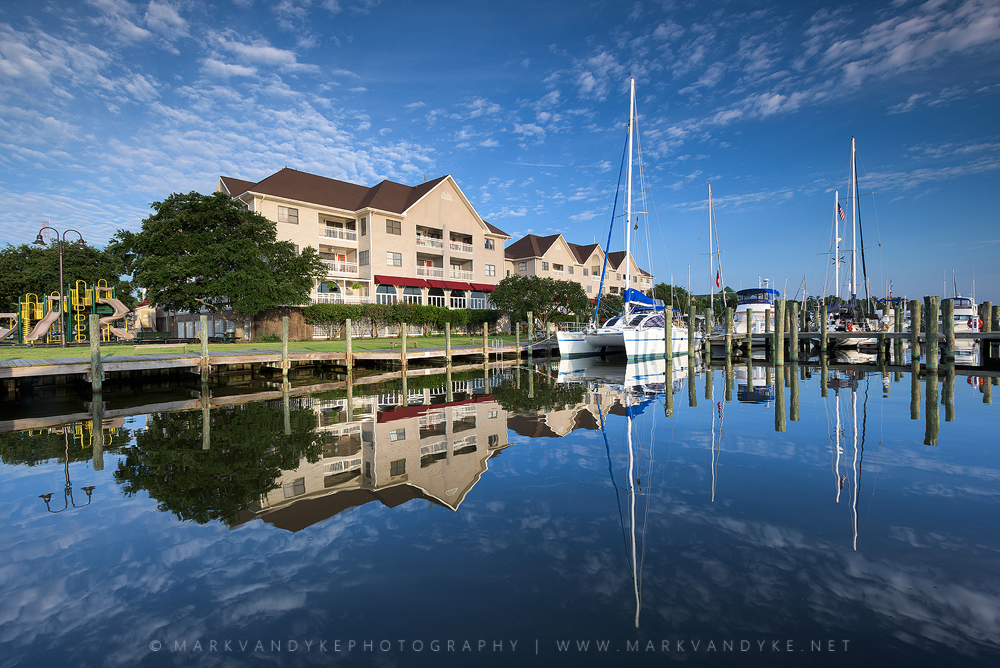 Waterfront Reflections: Manteo, North Carolina Outer Banks