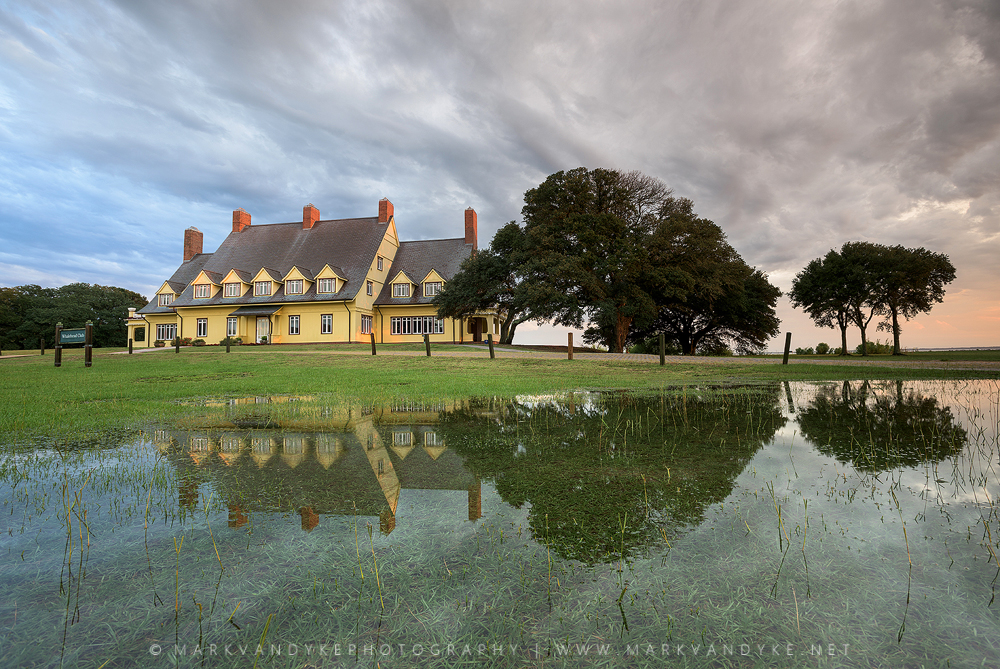 Reflected: Whalehead Club Corolla, North Carolina OBX