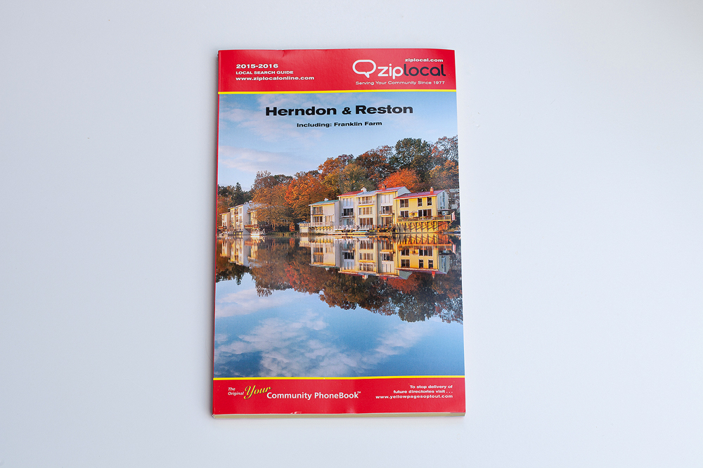 Published:  ZipLocal Community Phonebook Herndon / Reston 2015-2016