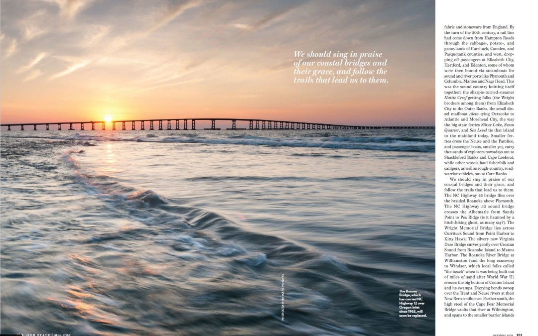 Published:  May 2016 Our State Magazine