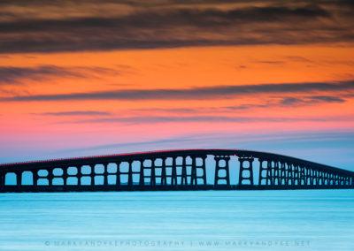 Bonner Bridge Sunset