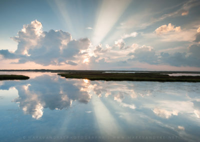 Coastal Marsh Reflections Outer Banks