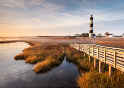 Bodie Island Lighthouse Autumn Grasses