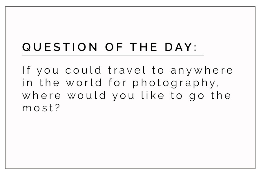 QOD 8/18/2017:  Where Would You Travel?